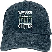 SPFIRE Sawdust is Man Glitter-7 Hats,Baseball Cap for Men Women Adjustable Fitted Snapback Hat