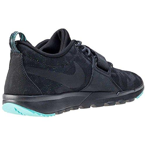 Nike Trainerendor, Scarpe da Skateboard Uomo Black (Nero / Nero-trasparente Giada Volt)