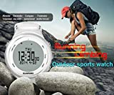 SUNROAD Outdoor Climbing Camping Watch Pedometer Barometer Altimeter Compass Waterproof Digital Smart Sports Watch FR852