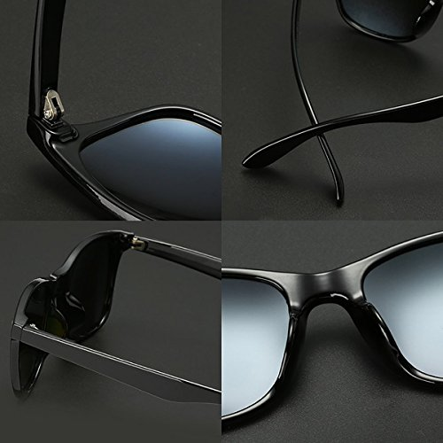Polarized Sunglasses For Men Wayfarer Black Frame Shades Classic Sun Glasses by Dollger (Image #5)