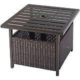 Amazoncom Metal Side Tables Tables Patio Lawn Garden