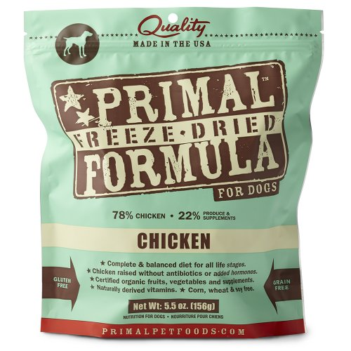 Primal Pet Foods Freeze Dried Canine Chicken Formula, My Pet Supplies