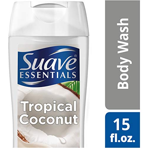 Suave Essentials Body Wash, Creamy Tropical Coconut,