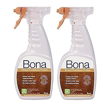 BONA KEMI USA WP650052001 Shine & Polish Clean Your Wood Furniture, 16 oz (2)