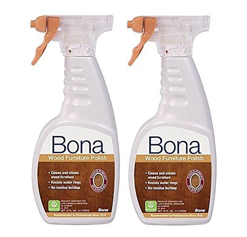 Bona Kemi Usa Wp650052001 Shine Polish Clean Your Wood Furniture 16 Oz 2