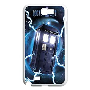 Dr Doctor Who Season Van Gogh Tardis Painting Rubber Case for Samsung Galaxy Note 2 N7100 Case Cover AML193351