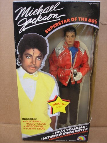 Michael Jackson Superstar of the 80's Doll - Beat It Outfit - 1984 (Michael Jackson Outfits)