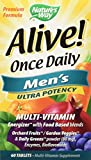 Nature's Way Alive Once Daily Men's Multivitamin Tablets, 120 Count