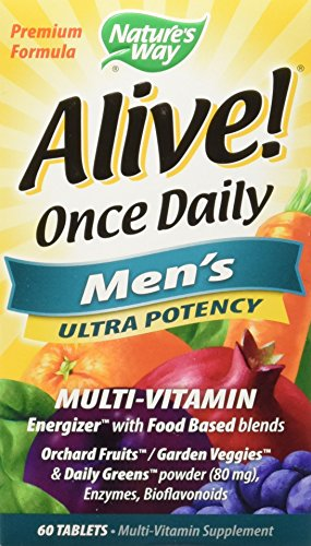 (Nature's Way Alive Once Daily Men's Multivitamin Tablets, 120 Count)