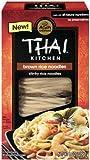 THAI KITCHEN | Gluten Free -Rice Noodle-Brown Rice 8 Oz [1Pack]