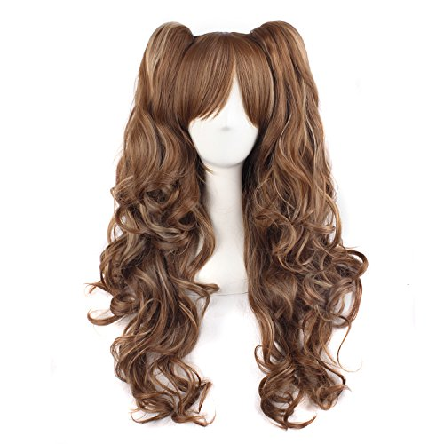 MapofBeauty Multi color Lolita Ponytails Cosplay product image