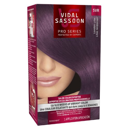 Vidal Sassoon Luxe Hair Color, London Lilac (5VR), 2 pack