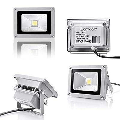 Warmoon LED Flood Light Outdoor Spotlight IP65 Waterproof Security Wall Washer Lighting