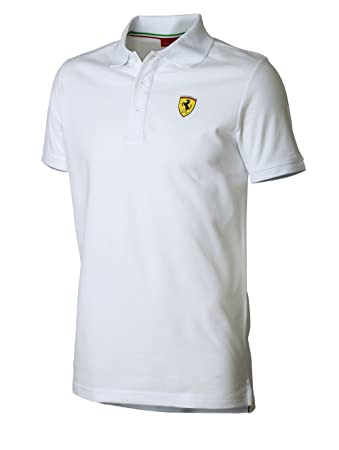 c9516492 Amazon.com: Ferrari Red Classic Shield Polo Shirt: Clothing