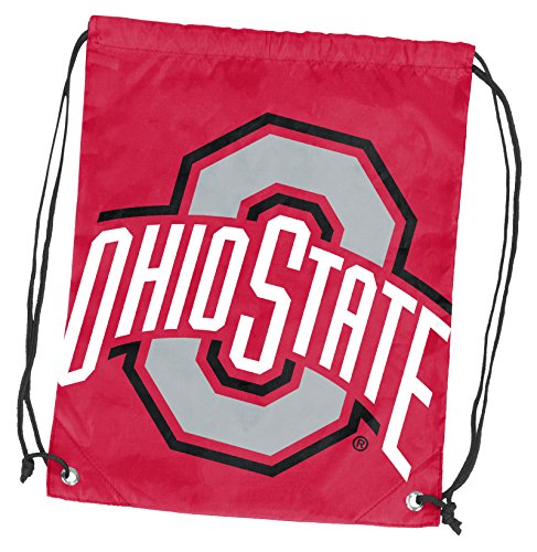 Logo Brands 191-87D NCAA Ohio State Doubleheader Backsack, Black