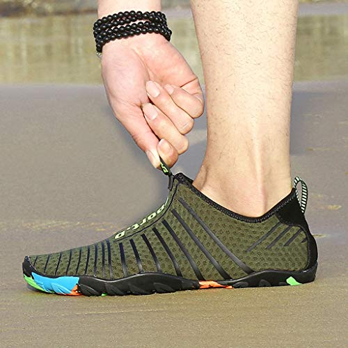 f9043a43e35c9 Sherostore ♡ Mens Womens Water Shoes Quick Dry Barefoot for Swim Diving  Surf Aqua Sports Pool Beach Walking Yoga