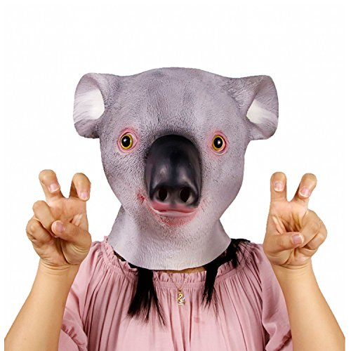 Waylike Deluxe Novelty Halloween Costume Party Latex Animal