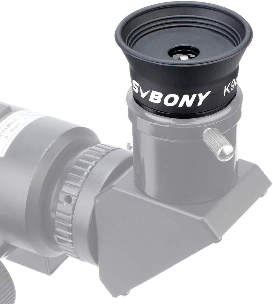 9mm Svbony SV114 Ocular Telescopio 1.25 Ocular 9mm Kellner Ocular para Telescopio