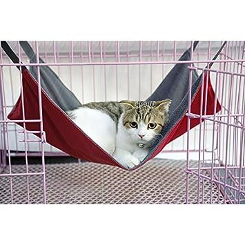 Thmyo Cama Hamaca para Gatos, Suave y cómoda Cama para ...