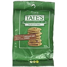 Tate's Bake Shop - Tiny Tate's Bite Size Chocolate Chip Cookies (Each bag contains 10 -12 bite size cookies, Six 1oz Bags) Pack of 6