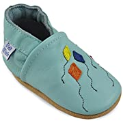 Beautiful Soft Leather Baby Shoes - Toddler Shoes with Suede Soles