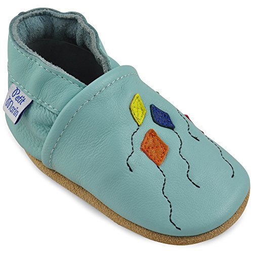 Petit Marin Beautiful Soft Leather Baby Shoes With Suede Soles – Toddler/Infant Shoes - Crib Shoes – Baby First Walking Shoes - Pre-Walker Shoes - 40 Designs