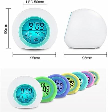 futurepost.co.nz One Size Vekey Alarm Kids Wake Up Light Clock ...