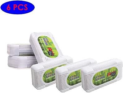 YUNQI 6 Unidades de Desodorante de carbón de bambú Activado para ...