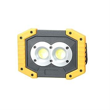 Foco LED Recargable Led Proyector Portátil Recargable 18650 ...