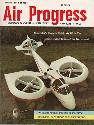 SPRING 1960 AIR PROGRESS aviation magazine - Curtiss Racer