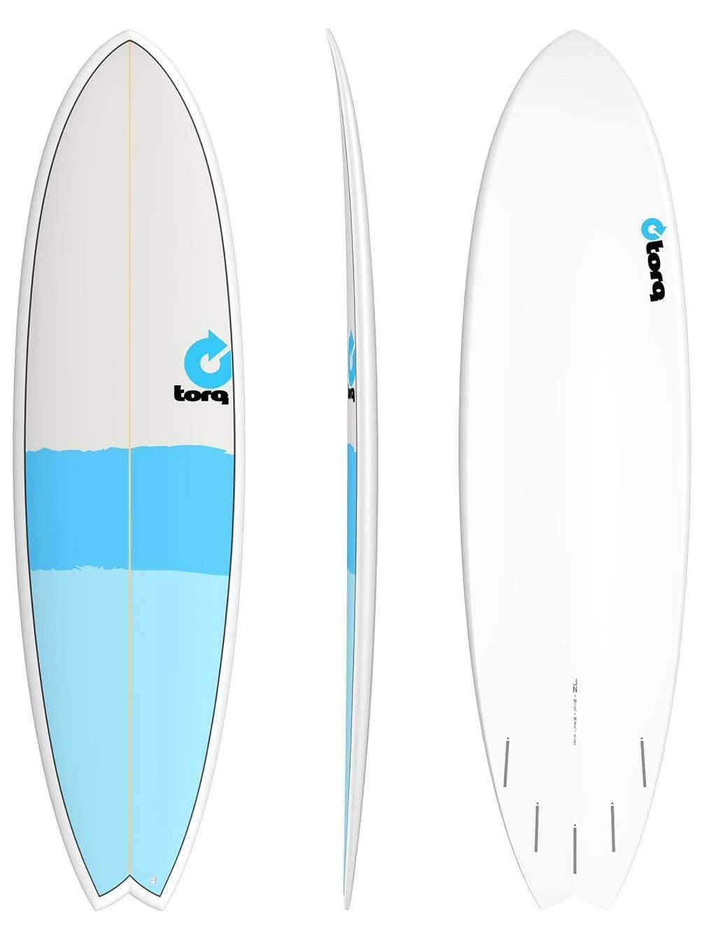 Tabla de Surf Torq Tet 7.2 Fish New Classic: Amazon.es: Deportes y ...