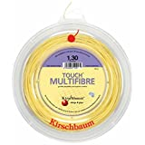 Kirschbaum Reel Touch Multifibre Tennis String, Natural, 1.25mm/17-Gauge