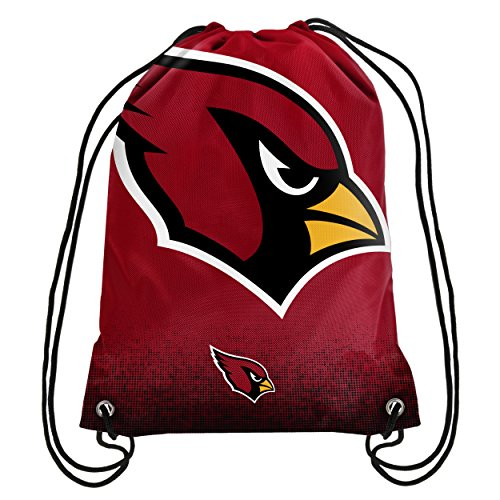 Forever Collectibles NFL Unisex Gradient Drawstring Backpackgradient Drawstring Backpack, Arizona Cardinals, Standard ()