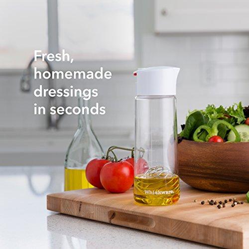 whiskware salad dressing shaker with blenderball wire. Black Bedroom Furniture Sets. Home Design Ideas