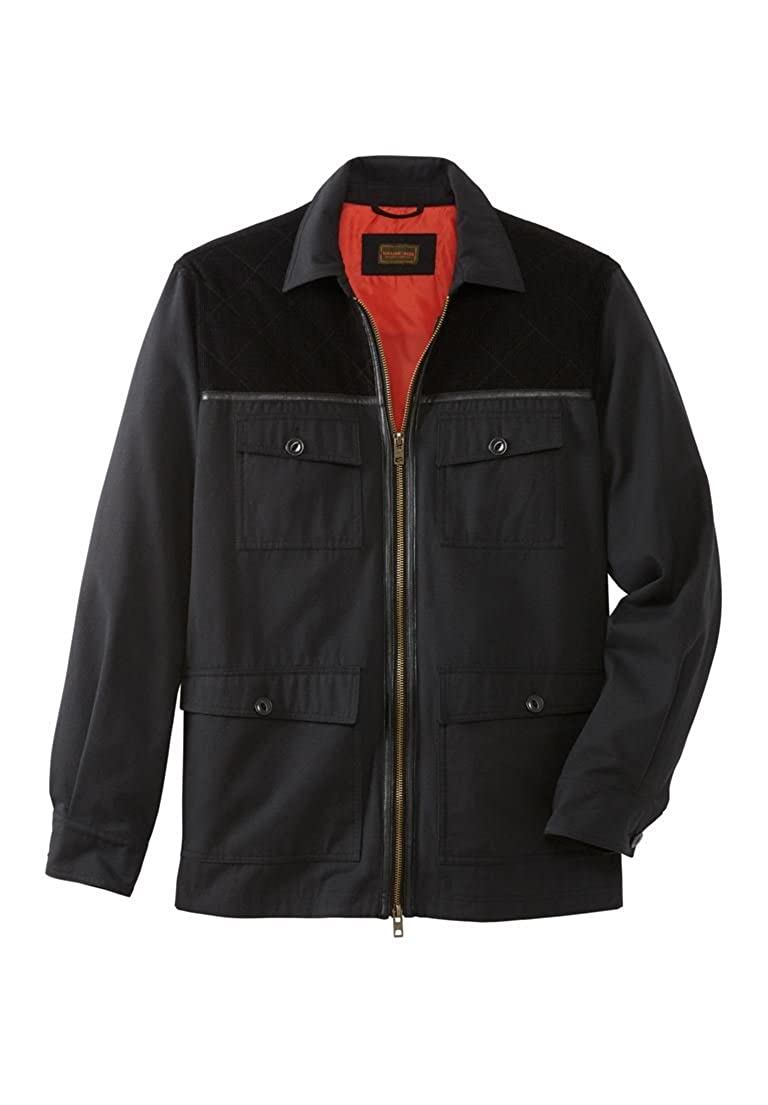 Boulder Creek Men's Big & Tall 3-in-1 Field Jacket