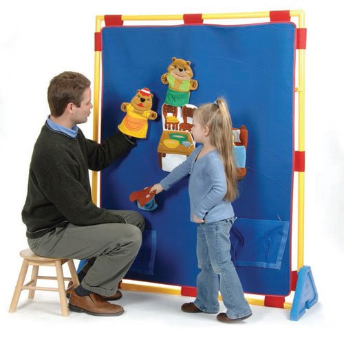 Big Screen Velcro Play Panel by Constructive Playthings