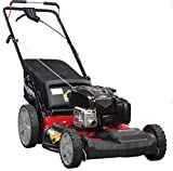 Snapper 21' Self Propelled Gas Mower with Side Discharge, Mulching, Rear Bag and Rear High Wheel