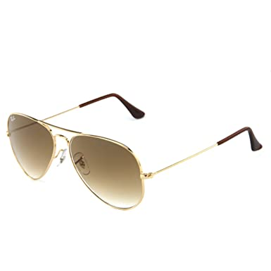 4e0970979a Amazon.com  Ray-Ban 3025 Aviator RB 3025 001 51 58mm Gold Frame ...