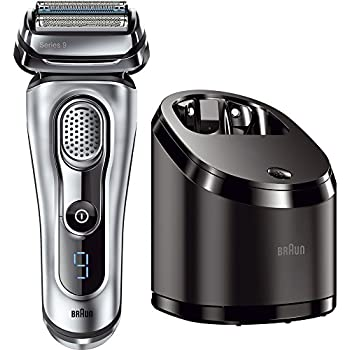 Braun Series 9 9090cc Men's Electric Foil Shaver/Electric Razor with Cleansing Center, Razors, Shavers, Cordless Shaving System