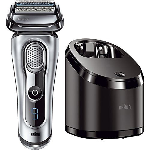 Price comparison product image Braun Series 9 9090cc Electric Foil Shaver for Men with Cleaning Center, Electric Men's Razor, Razors, Shavers, Cordless Shaving System