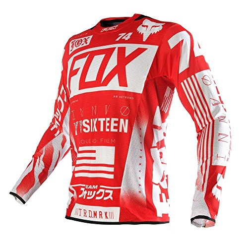 Flexair Jerseys (Fox Racing 2016 Flexair Union Jersey Red Size X-Large 15756-003-XL)