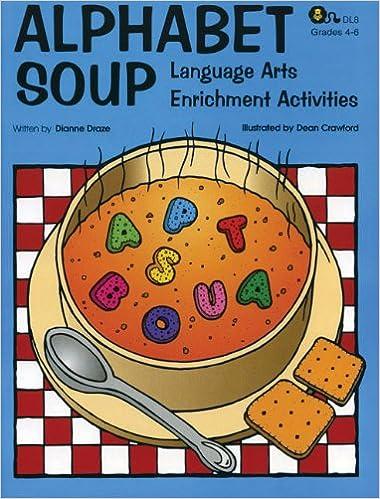 Amazon.com: Alphabet Soup: Language Arts Enrichment Activities ...