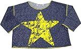 Flowers by Zoe - Little Girls' Long Sleeve Sweatshirt, Blue, Yellow 33133-7/8