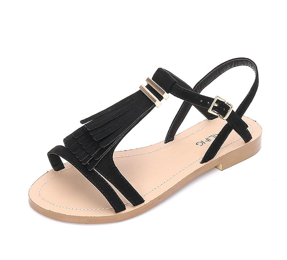 Römische Damen SandalenSommer Metall Sandalen Weiwei Quasten 8nwk0XNOPZ