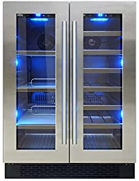 Vinotemp Dual-Zone Wine and Beverage Center
