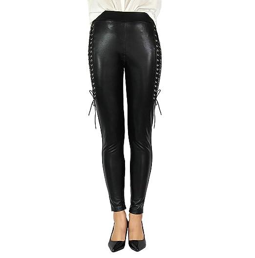 0ba6ef4782156 Gaorui Women Yoga Trousers Leggings Black Stretchy High Waisted Tight Skinny  Pants