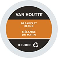 Van Houtte Original House Blend Dark Single Serve Keurig Certified Recyclable K-Cup Pods for Keurig Brewers - 96-Count
