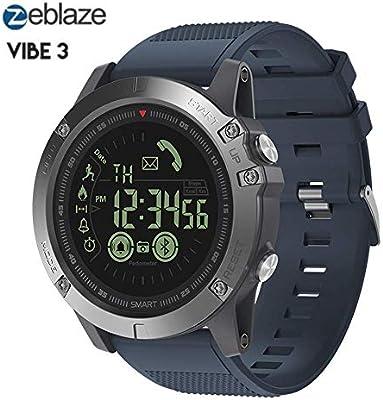 Amazon.com: Zeblaze Vibe 3 Smartwatch - IP67 Waterproof ...