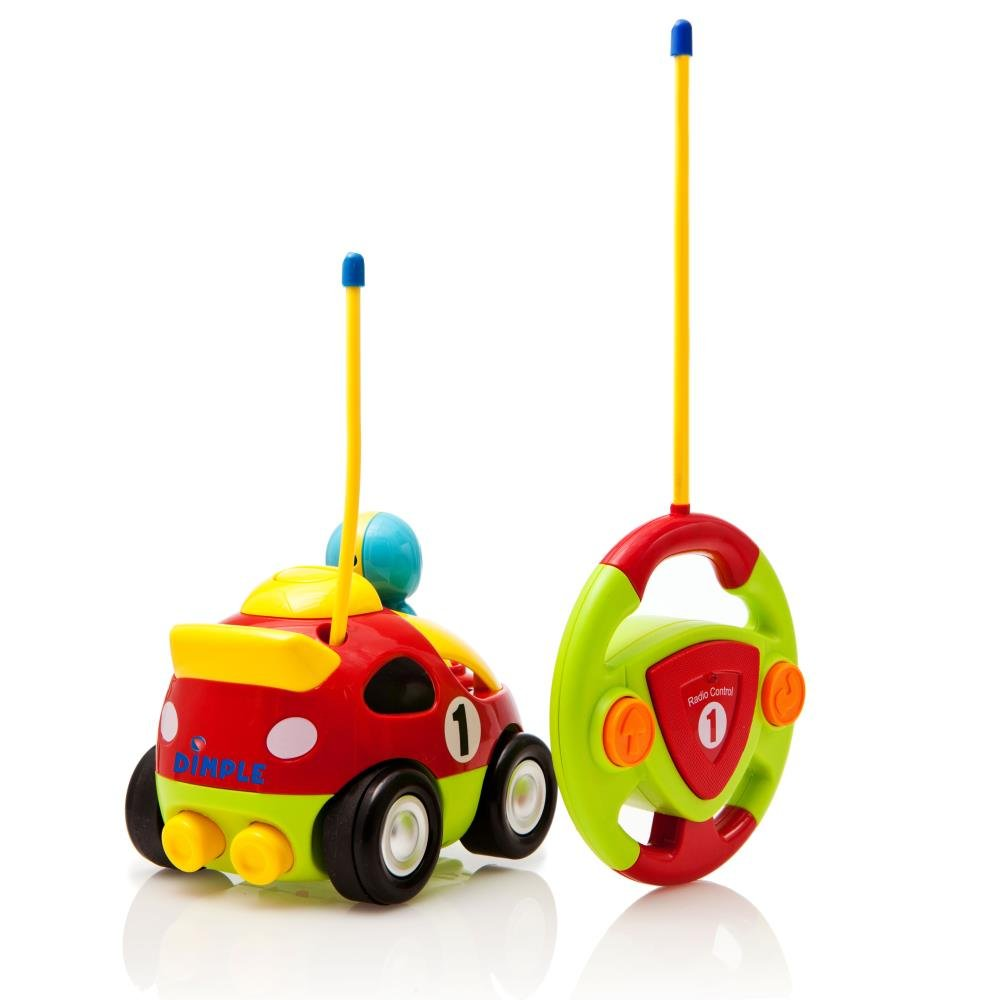 amazon com remote control r c cartoon race car with music and