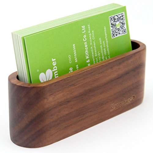 Card Holder, Business Card Case for Men and Women, Business Card Stand and Protector ()